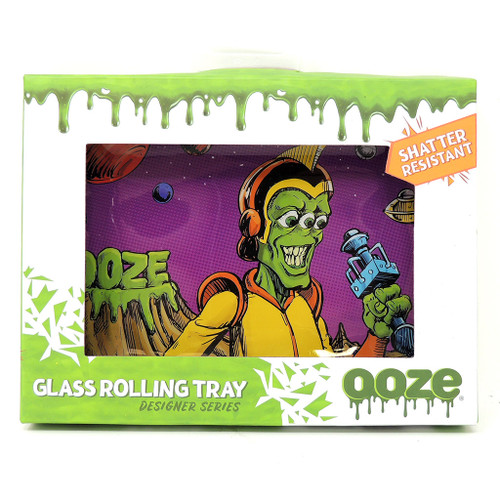 Ooze Glass Rolling Tray - Invasion