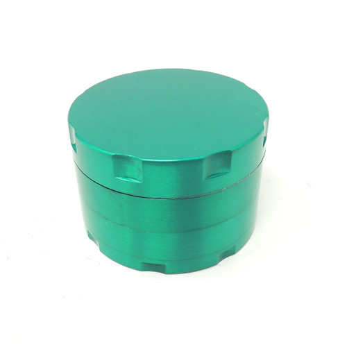 50mm 4 part Zinc Grinder - Assorted Colors UNS Wholesale Smoke Shop Head Shop Novelty Supplies herb grinder distributor wholesale plastic grinders custom grinders wholesale wooden herb grinder wholesale metal band herb grinders sps wholesale sharpstone grinder wholesale lighters cbd grinder wholesale ashtrays tobacco shop wholesale