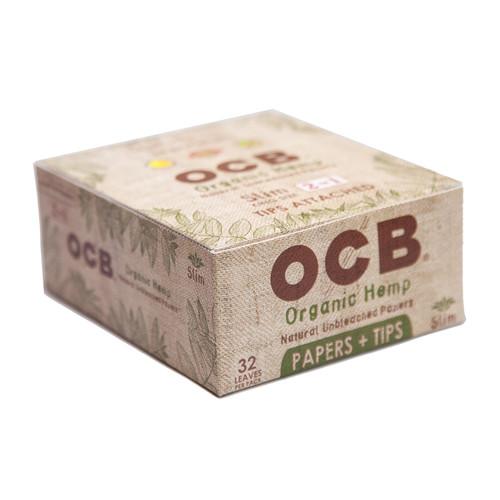 OCB Organic Hemp King Size + Tips Rolling Papers