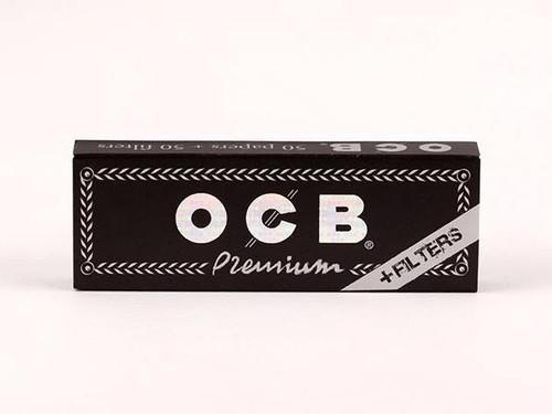OCB Premium 1.25 + Tips Rolling Papers