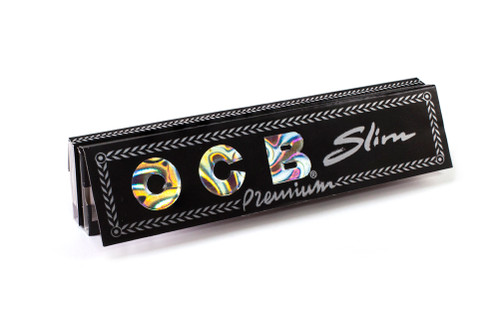 OCB Premium King Size Slim + Tips Rolling Papers