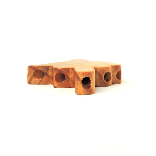 Wood Level Five Cone Holder