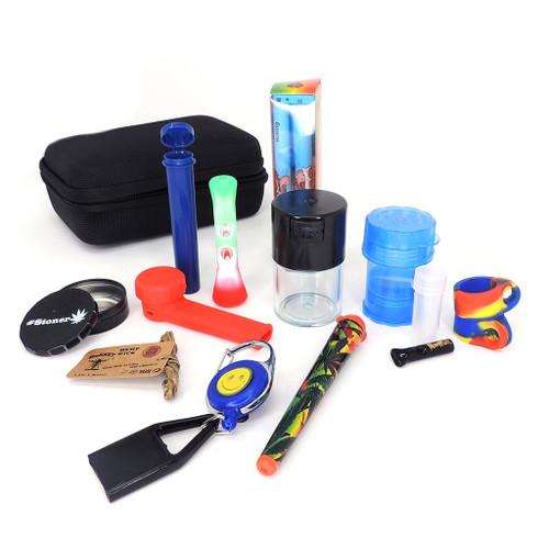 Deluxe Smoker's Kit - Assorted  Smoke Shop Distributor Head Shop Novelty Supplies