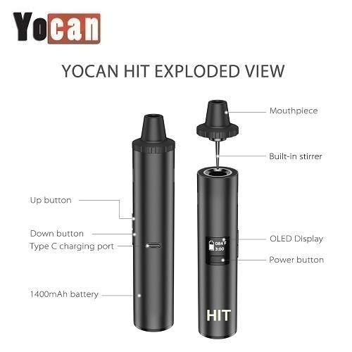 Yocan Hit Dry Herb Vaporizer