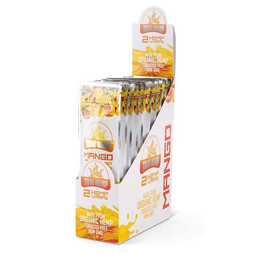 True Hemp - Mango, hemp wrap display for retail shops