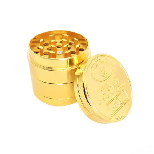 40mm Gold 4 part Grinder