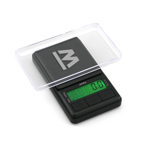Truweigh APEX Digital Mini Scale - 1000g x 0.1g - Black