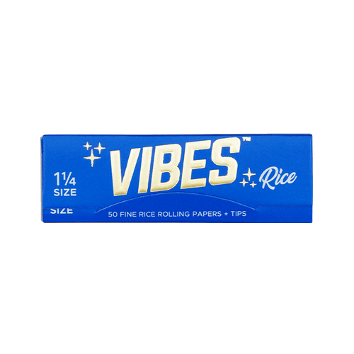 Vibes Rice Papers Display - 1.25 + Tips