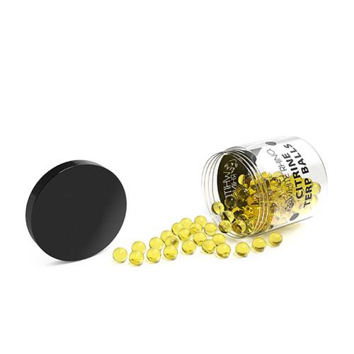 White Rhino 6mm Terp Balls - Citrine - 100 count Display