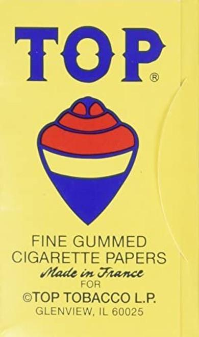 TOP Standard Rolling Papers - 24 ct. Box
