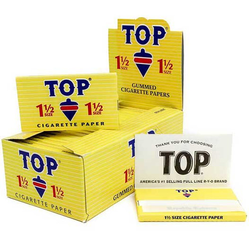 TOP 1.5 Rolling Papers - 24 ct. Box