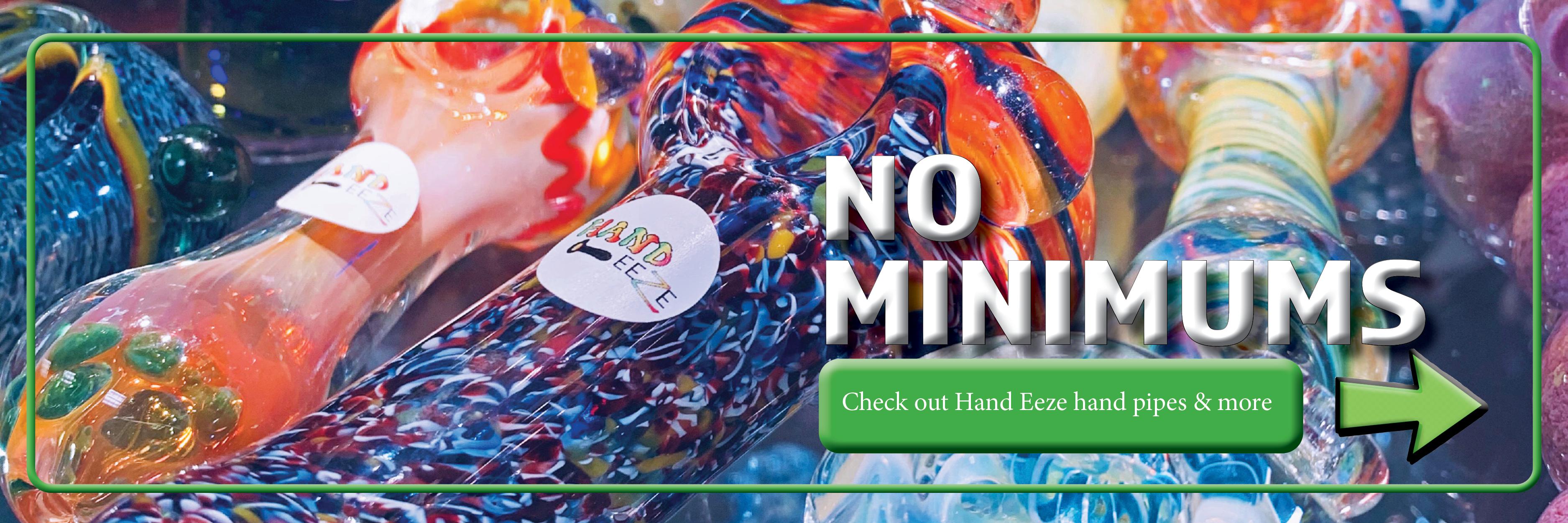 Hand Eeze hand pipes UNS Wholesale Smoke Shop Head Shop Novelty Supplies