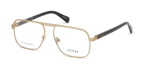 032 - Gold Guess GU1966 Eyeglasses