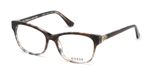 056 - Havana/other Guess GU2696-F Eyeglasses