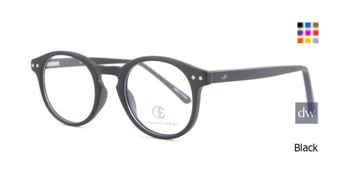 Black CIE SEC504 Eyeglasses.