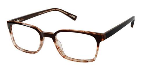 Brown Sand Kliik Denmark K-633 Eyeglasses.