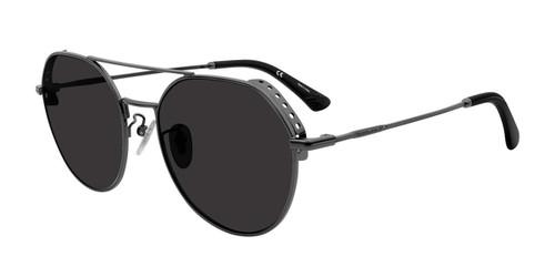 Dark Gunmetal Police SPL636 Sunglasses.