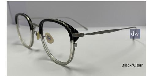 Black/Clear Zupa Ztar Zz8005E Eyeglasses.