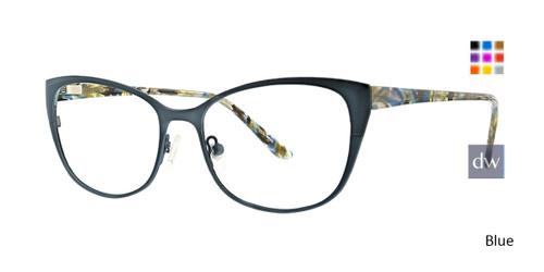 Blue Xoxo Taos Eyeglasses.