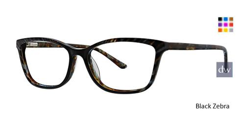 Black Zebra Xoxo Trieste Eyeglasses.