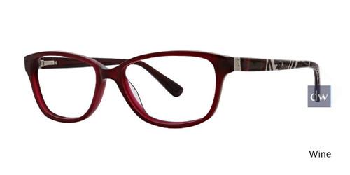Wine Xoxo Tropez Eyeglasses.