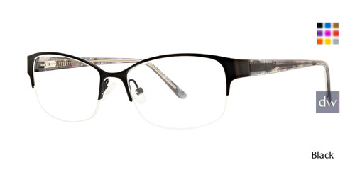Black Xoxo Ventura Eyeglasses.