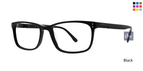 Black Argyleculture Frey Eyeglasses.