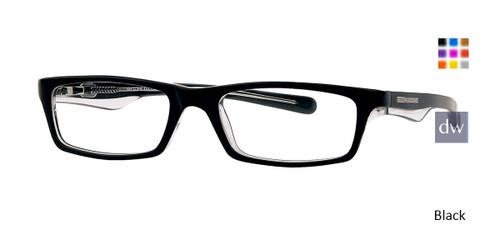 Black/Blue Crystal L Body Glove BB125 Eyeglasses.