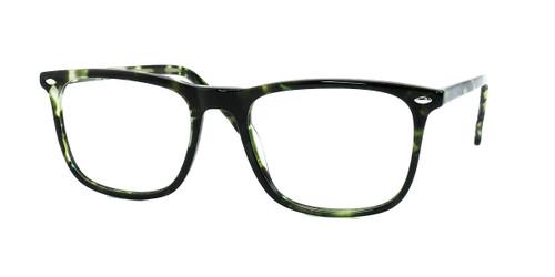 Shiny Black Green Demi  Daniel Walters CB5187 Eyeglasses