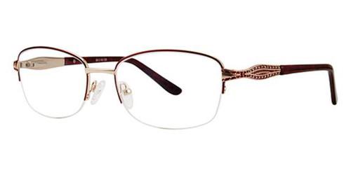 Burgundy Avalon 5070 Eyeglasses.