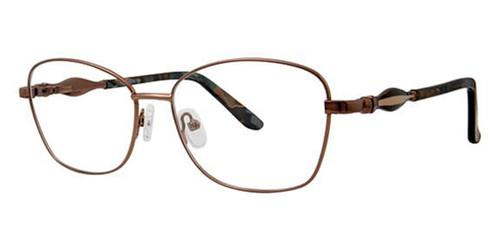 Brown Avalon 5076 Eyeglasses.