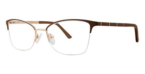 Beige Avalon 5078 Eyeglasses.