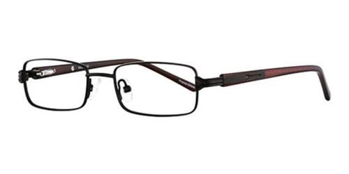 Black/Red  K12 4058 Eyeglasses