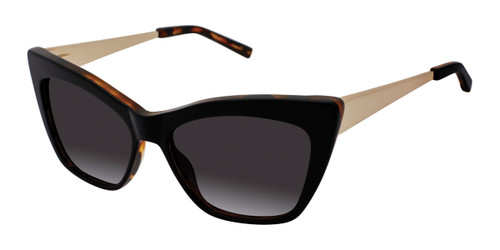 Black Kate Young For Tura K706 Sunglasses.