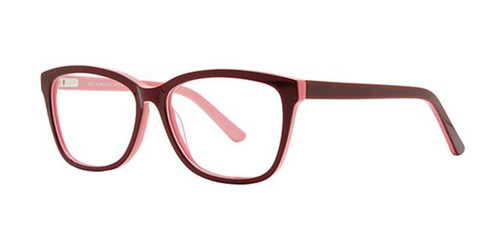 Burgundy Elan 3036 Eyeglasses.