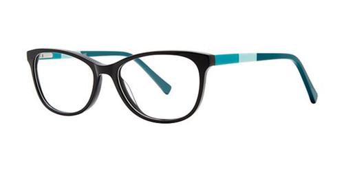 Black Elan 3037 Eyeglasses.