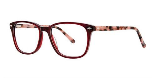 Burgundy Elan 3039 Eyeglasses.