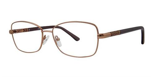 Brown Elan 3423 Eyeglasses.