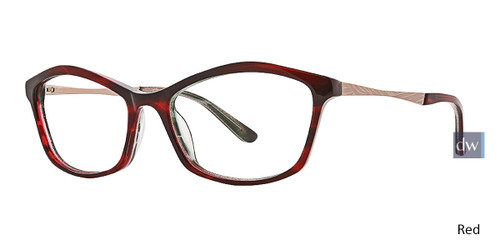 Red Xoxo Avila Eyeglasses.