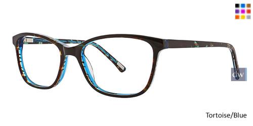 Tortoise/Blue Xoxo Clemente Eyeglasses