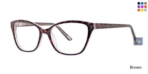 Brown Xoxo Marin Eyeglasses.