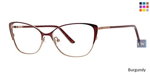 Burgundy Xoxo Resa Eyeglasses.