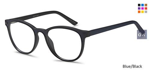 Blue/Black Capri Millennial Snap Eyeglasses.