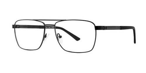 Black Elan 3424 Eyeglasses.