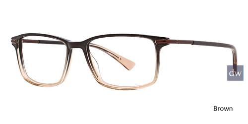 Brown Argyleclture Ayler Eyeglasses.