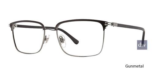 Gunmetal Argyleclture Goodman Eyeglasses.