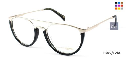 Black/Gold William Morris Black Label BLSADE Eyeglasses