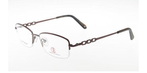 Brown CIE SEC324T Eyeglasses