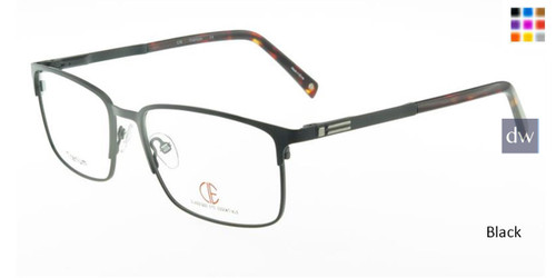 Black CIE SEC325T Eyeglasses