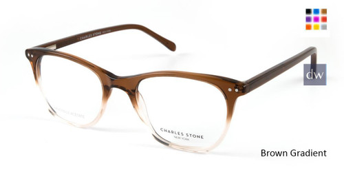 Brown Gradient William Morris Charles Stone NY CSNY30043 Eyeglasses.